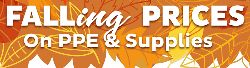 Fall ing  Prices on On PPE & Supplies