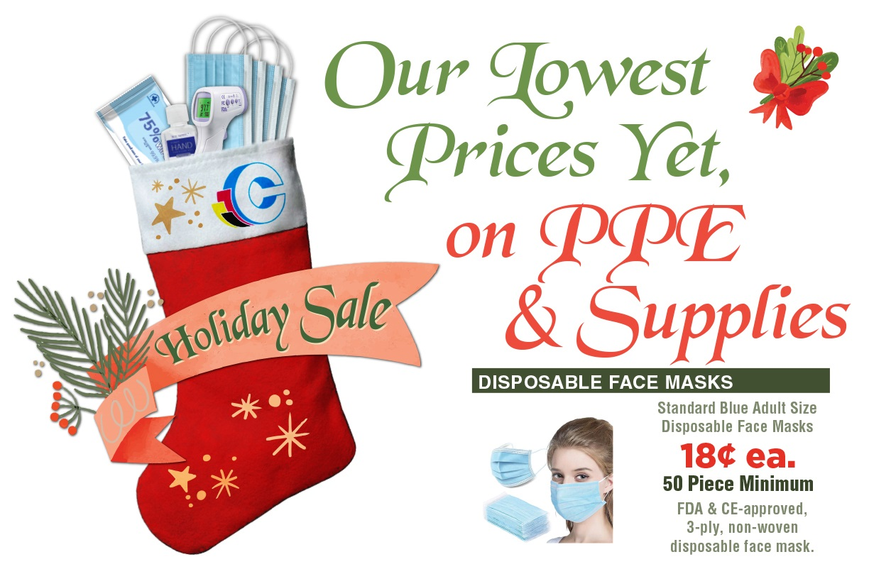 Our Lowest Price Yet, on ppe & Supplies